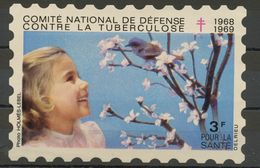 FRANCE -  CAMPAGNE NATIONALE CONTRE LA TUBERCULOSE 1968/69 - VIGNETTE (80X120MM) À 3F - Antituberculeux