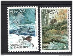 CEPT Natur - Und Nationalparks / Nature National Parks Georgien 312-313  ** Postfrisch, MNH, Neuf - Europa-CEPT