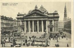 Bruxelles Brussel La Bourse  De Beurs Tram  Ramsa - Transport Urbain En Surface