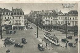 Bruxelles Brussels La Porte Louise Louise's Gate Tram - Transport Urbain En Surface