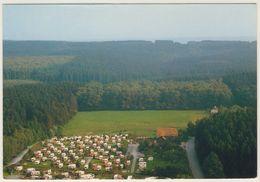 AK  Campingplatz Wiggeshoff Warstein Niederbergheim Möhne Luftaufnahme _ Normalformat _Ansichtskarte - Warstein