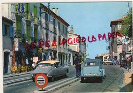 ESPAGNE - CATALUNA- FRONTERA FRANCO ESPANOLA- LA JUNQUERA - LE PERTHUS - DS CITROEN - 2CV- DEUDEUCHE - Spagna