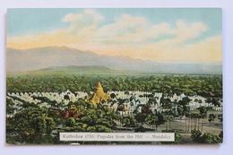 Kuthodaw (716) Pagodas From The Hill, Mandalay, Burma - Myanmar (Burma)