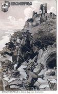 Deutschland, Drachenfels, Künstlerkarte, Illustrateur Sur La Légende (Sage) - Koenigswinter