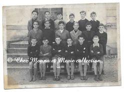 SAINT ST JEAN BOSCO MARDI 4 NOVEMBRE 1947 - ECOLE DE GARCONS PHOTO DE CLASSE - 17 X 12 CM - Lieux