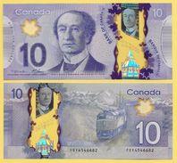 Canada 10 Dollars P-107 2013 Sign. Macklem & Carney UNC - Canada