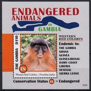 2013 - Animaux Africains En Danger - BF Neufs // Mnh - Gambie (1965-...)