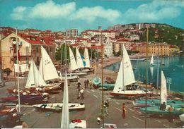 Imperia (Liguria) Il Porto Con Barche A Vela, Le Port, The Harbour, Der Hafen - Imperia