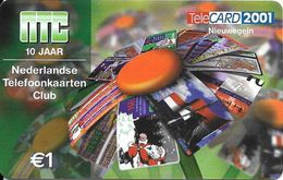 NTC: TeleCard Exhibition 2001 Nieuwegein, Netherlands. Mint - Niederlande