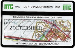 PTT Telecom: TeleCard Exhibition 1993 Zoetermeer, Netherlands. NTC Nederlandse Telefoonkaarten Club. Mint - öffentlich