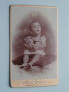 Kind Enfant Child ( CDV Photo A. Rameil EVREUX ) See Photo For Details !! - Anonymous Persons