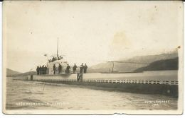 "Militaria. Croatia. Royal Yugoslav Army.Submarine ,,Osvetnik "".photo Laforest 1929 - Submarines"