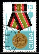 CUBA. PA 259 Oblitéré De 1977. Décoration Nationale. - Poste Aérienne
