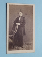 Man - Homme ( CDV Photo ? ) ! - Anonymous Persons