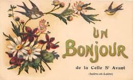 37 - INDRE ET LOIRE / 37168 - Celle St Avant - Belle Carte Fantaisie - France