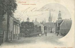 OOSTBURG : Zuidzandsche Straatweg - Cachet De La Poste 1904 - Sluis