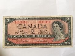 CANADA 2 DOLLARS 1954 CIRCULATED - Canada