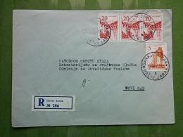LETTER, COVER YUGOSLAVIA, SERBIA, BACKI JARAK - Covers & Documents