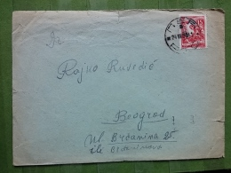LETTER, COVER YUGOSLAVIA, SERBIA, PEC - Covers & Documents