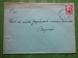 LETTER, COVER YUGOSLAVIA, CROATIA, DONJA DUBRAVA - Covers & Documents