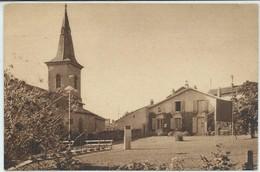 Bouxières-aux-Dames-Le Domaine De La Colline Bénie-Le Presbytère Et L'Église (Voir Scan Du Verso) (SÉPIA) - Altri Comuni