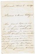 1893 Brouillon Manuscrit M. Armand De Neuville - Démission Du Poste De Président & Membre Du CA Charbonnages De Marihaye - Manuskripte