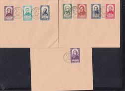 France Lot Michel 813-820 - Poststempel (Briefe)
