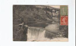 LARGENTIERE (ARDECHE) CASCADE ET DIGUE 1921 - Largentiere