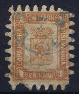 Finland: Mi Nr 10 C  Obl./Gestempelt/used  1866  Has A Small Thin - Gebraucht