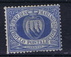 San Marino: Mi Nr 2 A Not Used (*) SG 1877 - Saint-Marin