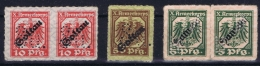 Deutschland X. Armee Korps Goltau Coltau - Besetzungen 1914-18