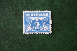 4 Ct  Roltanding Syncopated Syncope NVPH R39 R 39 (Mi 177 C) 1928 Gestempeld / USED NEDERLAND / NIEDERLANDE - Booklets