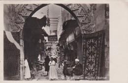 Morocco Marrakkesh Native Street In The Mouski District Photo - Marrakesh