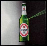 BECKS BIER , Brewery Beck & Co , Bremen Germany, Beer Mats - Beer Mats