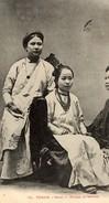 VIETNAM INDOCHINE - TONKIN - HANOI - GROUPE DE FEMMES - Cartes Postales