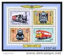 HONGRIE 1979, TRAINS, LOCOMOTIVES, 4 Valeurs, NEUFS / Mint. R287 - Treinen