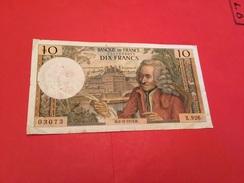 10 F VOLTAIRE 8-11-1973 - 1962-1997 ''Francs''