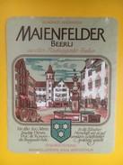 4965 - Maienfelder Beerli Blauburgunder Grisons Suisse - Etiquettes