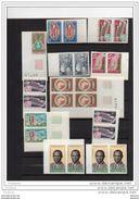 """SENEGAL-SUPERBE LOT -44 Timbres -NON DENTELE*-imperforated***  """"-LUXE Bord De Feuille-neufs **-années 60-70 - Senegal (1960-...)"""