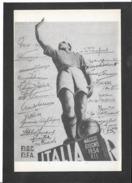 Italia Campione Del Mondo 1934 - Non Viaggiata - Soccer