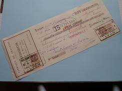 DIEDISHEIM & Blum Succ. ( Fabrique De Cravates ) 1926 LYON - Reçu / Wissel ! - Lettres De Change