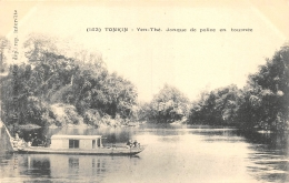 TONKIN  YEN THE  JONQUE DE POLICE EN TOURNEE - Viêt-Nam