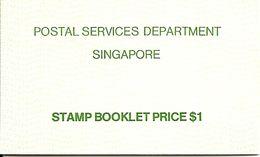 SINGAPORE, 1980, Booklet 4. Ships - Singapore (1959-...)
