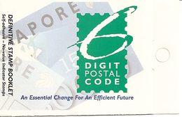 SINGAPORE, 1995, Booklet 25, Introduction New Postcode - Singapore (1959-...)