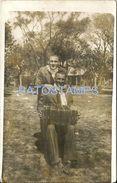 76964 ARGENTINA COSTUMES MAN'S BANDONEON TANGO POSTAL POSTCARD - Argentina