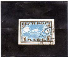 B - 1919 Estonia - Nave - Estland