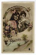 Carte Fantaisie N° 165 Amitiés - Enfants