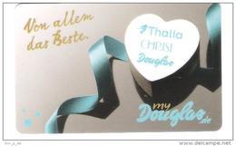 Germany - Allemagne - Douglas - Parfümerie - Carte Cadeau - Carta Regalo - Gift Card - Geschenkkarte - Gift Cards