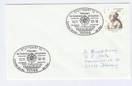 1993  GERMANY FDC PARACELSUS Stamps SPECIAL Pmk Stuttagrt Health Medicine - Medicine