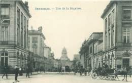 BRUXELLES - Rue De La Régence - Avenues, Boulevards